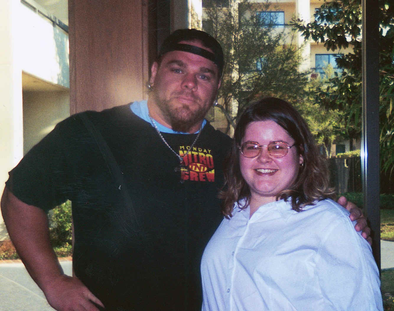 Hugh Morrus and I 2-18-01