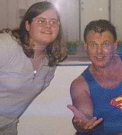 Jerry Lawler and I 4-21-01